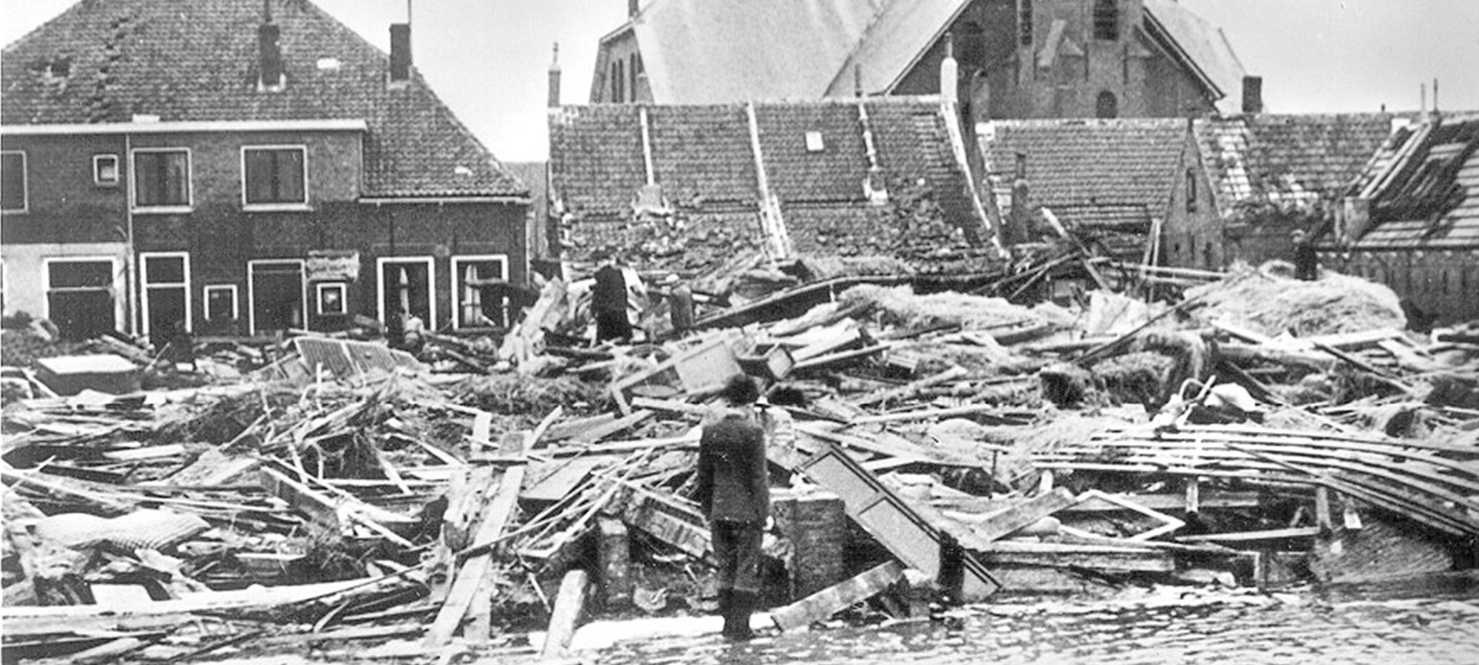 Watersnoodramp 65 jaar geleden