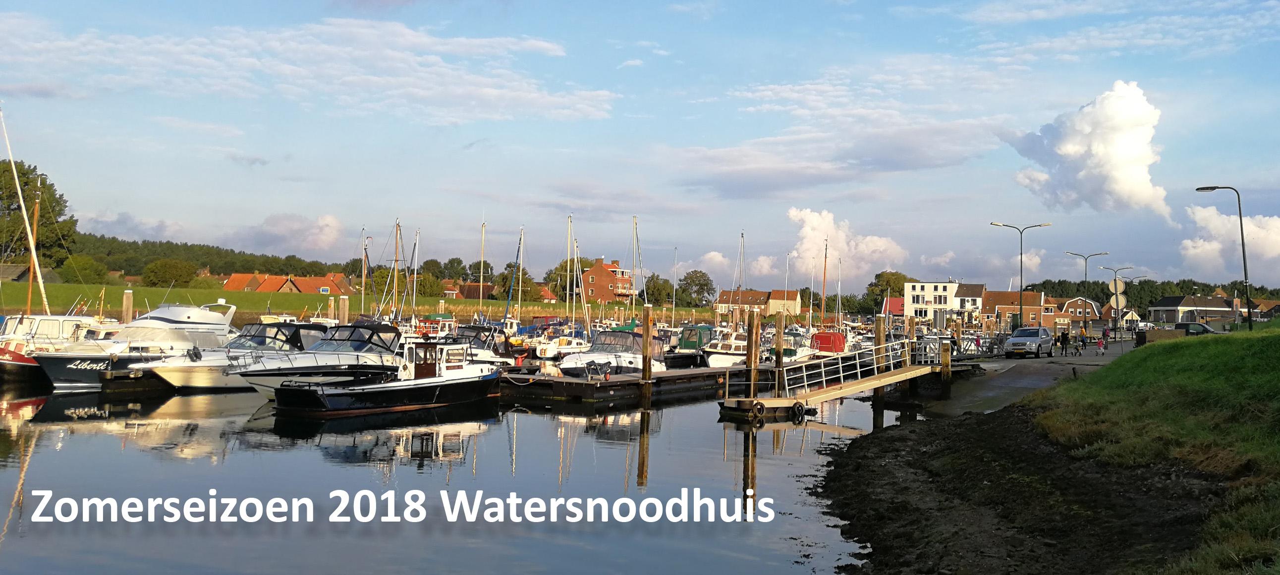 Zomerseizoen 2018 Watersnoodhuis