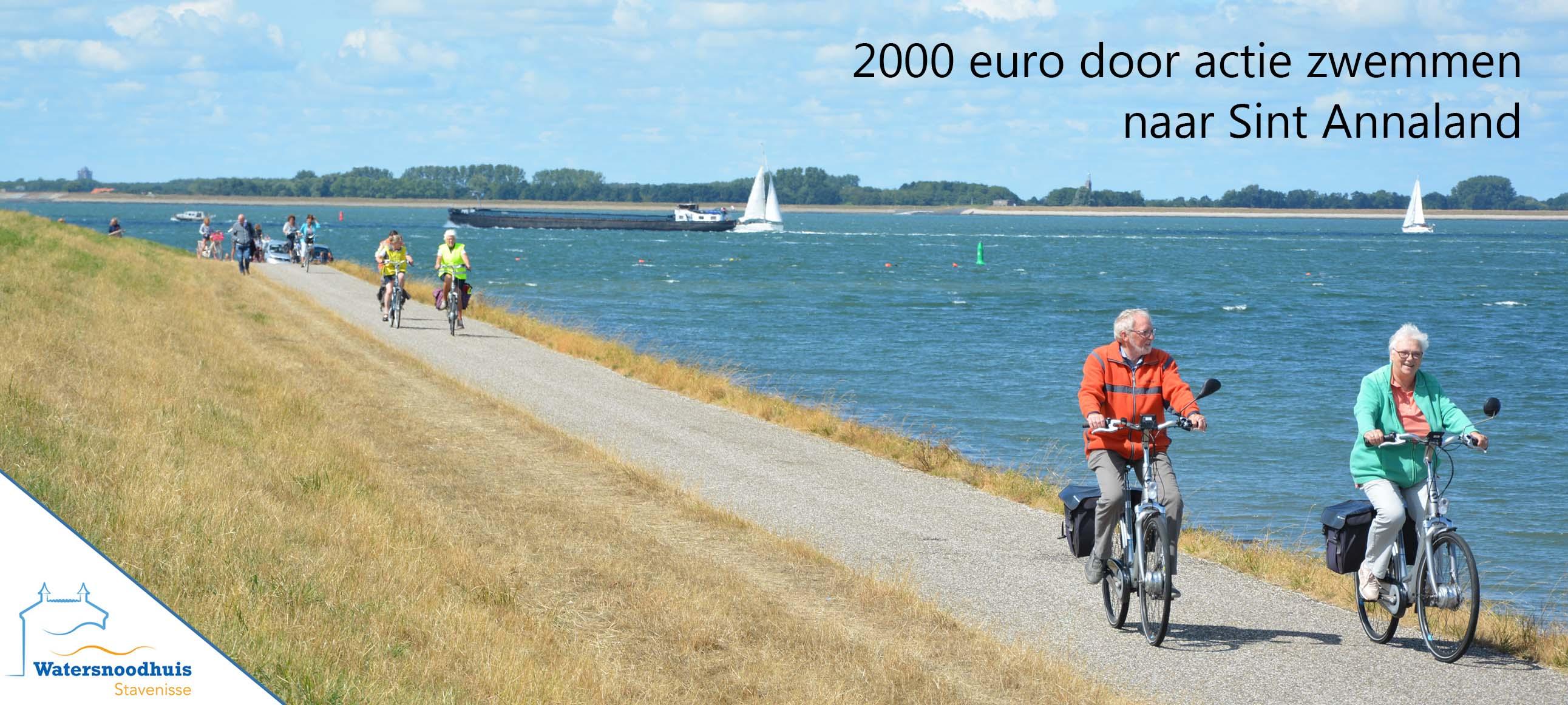 2000 euro door actie zwemmen naar sint annaland